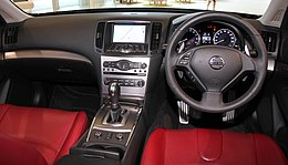 Nissan Skyline 370GT Type SP 55th Limited interior.jpg