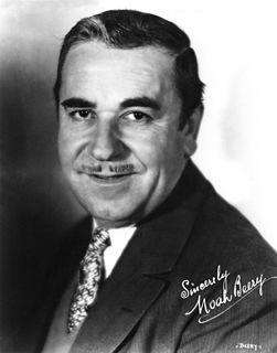 Noah Beery American actor