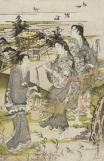 Shunman An ukiyo-e artist and painter during the Edo period of Japan.