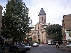 Norashen Armenian Church, Old Tbilisi.jpg