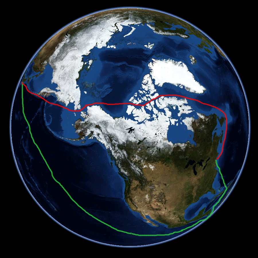 Картинки по запросу 900px-Nordwestpassage_NASA_Worldwind-globe