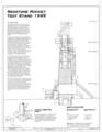North Elevation - Marshall Space Flight Center, Redstone Rocket (Missile) Test Stand, Dodd Road, Huntsville, Madison County, AL HAER ALA,45-HUVI.V,7A- (sheet 4 of 7).png