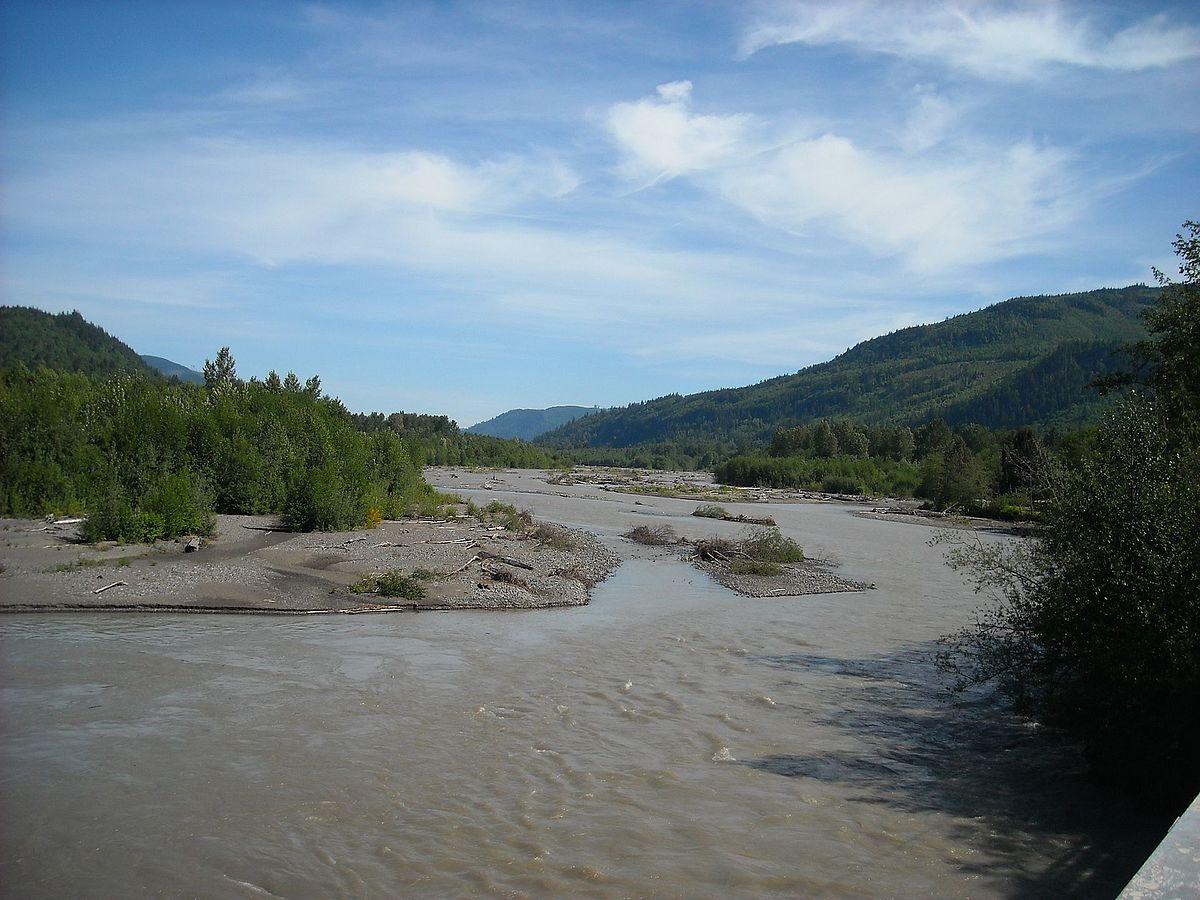 Nooksack River - Wikip...