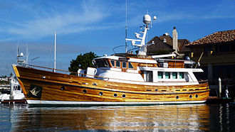 Recreational trawler - 72 foot custom built twin-screw recreational trawler with a range of 4000 miles