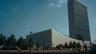 North by Northwest - The United Nations Headquarters is the site of a scene in the film.