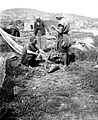 Northern views. Selling fish Tiberias. matpc.05159. 1900-1920.Left.jpg