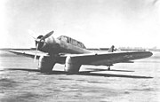 Northrop XA-16 on ramp