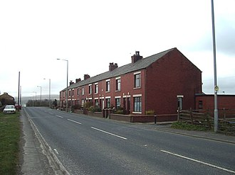 Abbey Village - Image: Nos 1 to 12 Stanworth Terrace, Abbey Village geograph.org.uk 151041