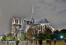 Dipatrino de Parizo de la Pont de l'Archevêché de Night.jpg