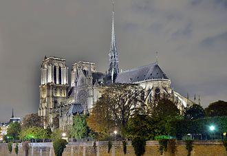 Notre-Dame de Paris - Notre-Dame de Paris from the Pont de l'Archevêché
