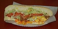 El sandwich.