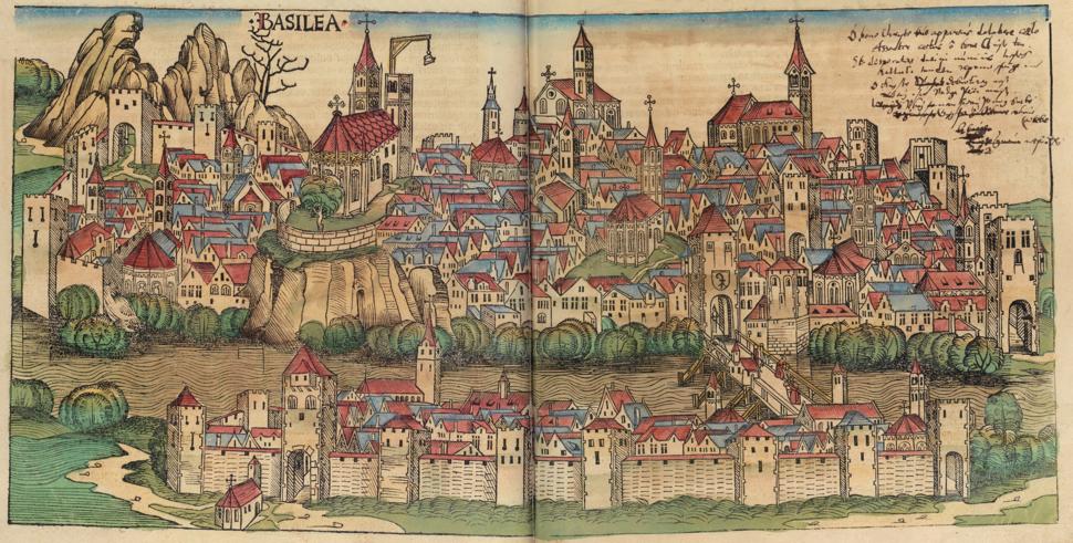 Nuremberg chronicles - BASILEA