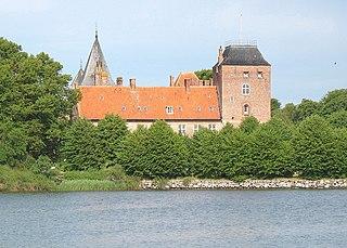 Nysted settlement in Denmark