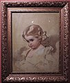Nyuta (A.I.Lebedeva, nee Makarova, painter's daughter) by I.Makarov (1860s) FRAME.jpg