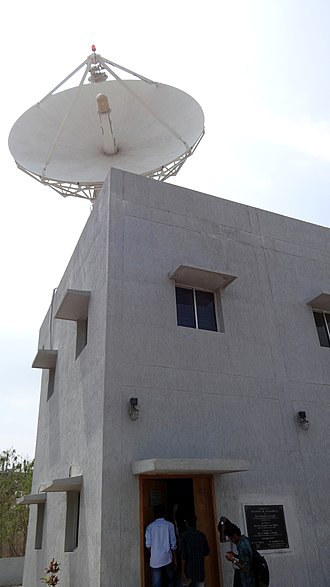 Indian National Centre for Ocean Information Services - Ground station of OCEANSAT-II, located inside the INCOIS campus