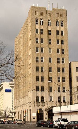 ONEOK - Oklahoma Natural Gas Company headquarters in Tulsa, Oklahoma built in 1928