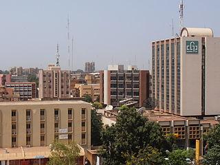 Ouagadougou City in Centre Region, Burkina Faso