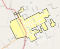 Oakland HD boundary map.png