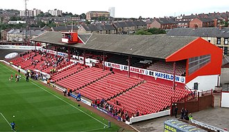 Oakwell - The West Stand