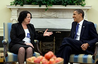 Presidency of Barack Obama - Obama and Supreme Court nominee Sonia Sotomayor