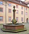 Oberndorf Kloster Innenhof Brunnen 01.jpg