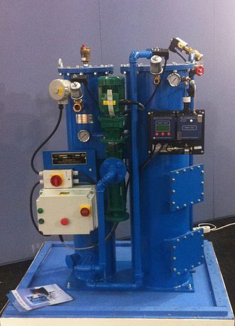 Oily water separator (marine) - Oily water separator built by Victor Marine