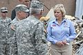 Oklahoma Gov. Mary Fallin, right, visits with area residents and Oklahoma National Guardsmen in tornado-damaged Moore, Okla., May 28, 2013 130528-Z-TK779-004.jpg