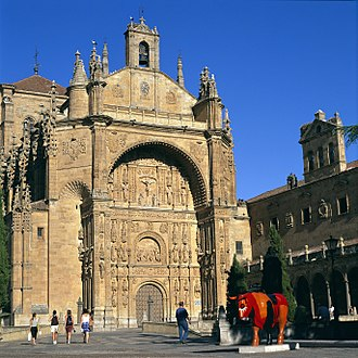 Plateresque - Convento de San Esteban