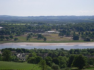Argyll's Rising - The Clyde at Old Kilpatrick, where Cochrane and a group of rebels forced a crossing on 17-18 June.