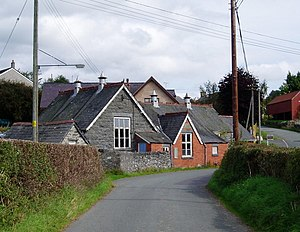 Old School, Bettws Gwerfil Goch - geograph.org.uk - 243131.jpg