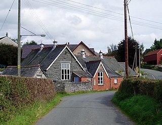 Betws Gwerfil Goch village in the United Kingdom