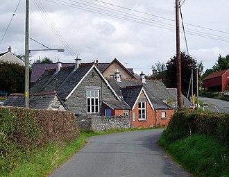 Betws Gwerfil Goch - Image: Old School, Bettws Gwerfil Goch geograph.org.uk 243131