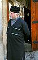 Old man with traditional azerbaijani costume.JPG