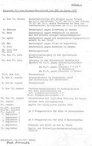 Olympia-Spielprogramm DFB 1972-3