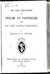On the relations of theism to pantheism and on the Galla religion.pdf