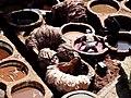 Open Air Tanneries Fez el Bali Fez Morocco - panoramio (1).jpg