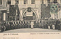 Opening of exhibition on arts and trades, Trebizond 1903.jpg