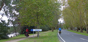 Orbost - The conversion of the disused rail line to the East Gippsland Rail Trail has created a cycle tourism industry in the town.