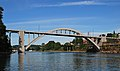 Oregon City Bridge wide view from fishing dock (2013) - 2.jpg