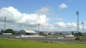 Oriel Park - Image: Oriel Park, Dundalk (cropped)