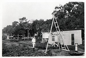 Canal Point, Florida - Image: Original lab office building constructed at U.S. Sugar Plant Field Station, Canal Point, Florida
