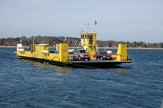 Orø - Cable ferry Karen Orø