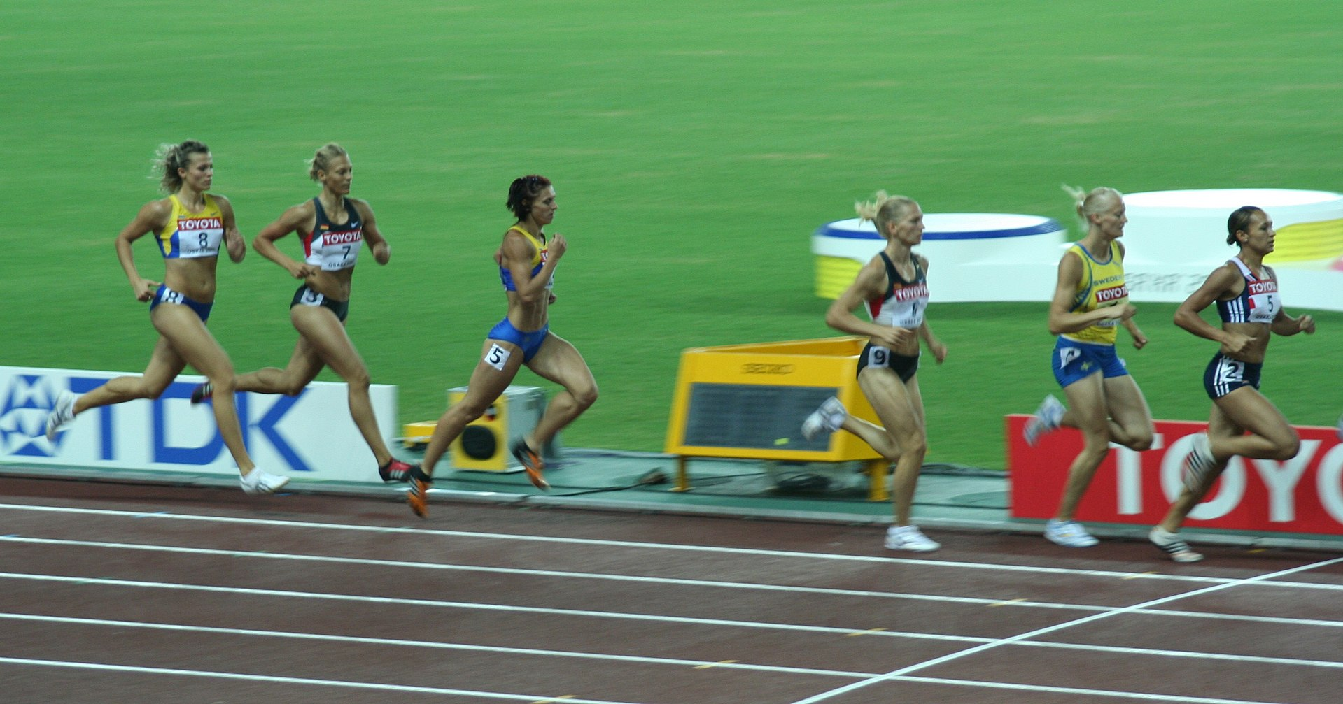 Combined Track And Field Events