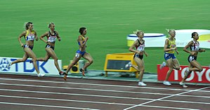 2007 World Championships in Athletics – Women's heptathlon - 800 m event