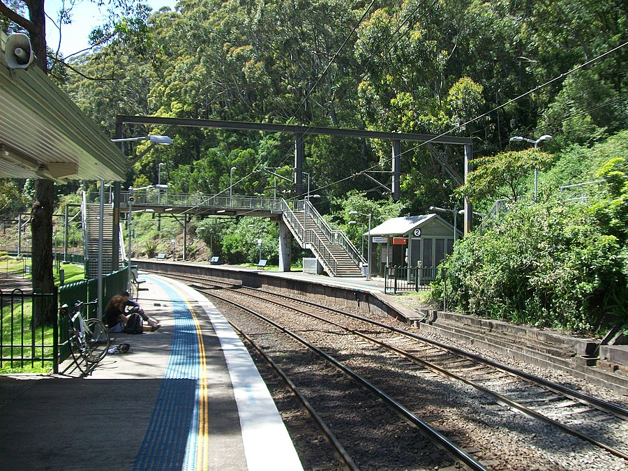 Otford railway station, New South Wales