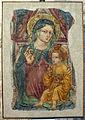 Ottaviano nelli (bottega), madonna col bambino, xv secolo, da s, giuseppe.JPG