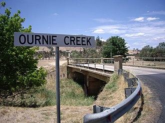 Ournie, New South Wales - Ournie Creek