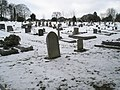 Overflow graveyard for Guildford Cemetery looking towards The Mount - geograph.org.uk - 1158397.jpg