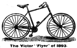 "Overman Wheel Company - The Overman Victor ""Flyer"" of 1893"