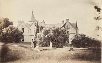 Keilor, Victoria - Overnewton, Keilor in 1887
